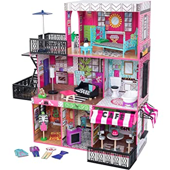 Amazon Com L O L Surprise House With Real Wood With 85 Surprises Toys Games