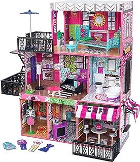 KidKraft 65922 Brooklyn's Loft Dollhouse with 25 Accessories Included, Multi