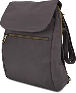Travelon Women's Anti-Theft Signature Slim Backpack, Smoke, One Size