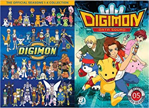 Digimon 1-5 : The Official Seasons 1-4 Collection + Digimon Data Squad Season 5