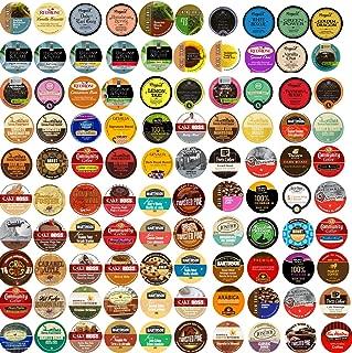 Sensational 100 cup Super Sampler Pack, Guaranteed 100 Different cups...Coffee & Tea NO Duplicates, 100 UNIQUE!