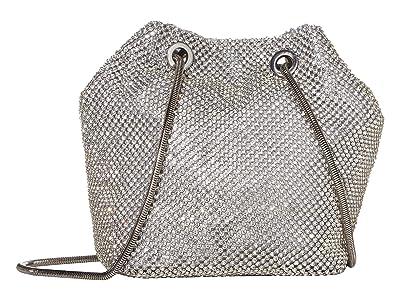 Jessica McClintock Valentina (Silver) Handbags