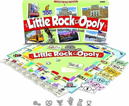Late for the Sky LITR Little Rock-opoly Brettspiel