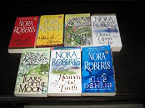 Nora Roberts 7 Book Set~Jewels of the Sun/Tears of the Moon/Dance Upon the Air/Blue Dahlia/Dance of the Gods/Valley of Sil...