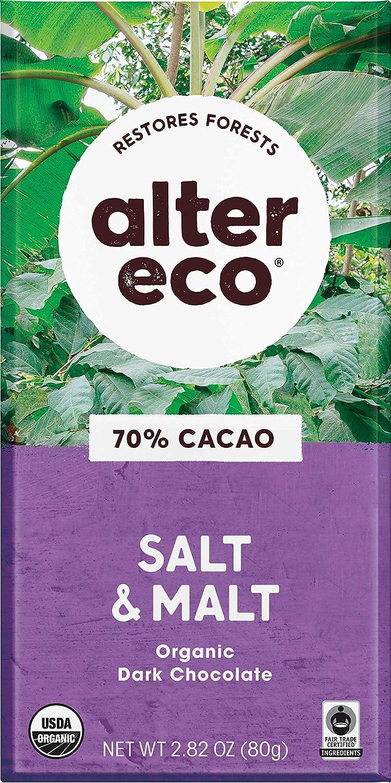 Alter Eco Dark Salt Malt Chocolate 70% Al sold out. Ranking TOP2 Cocoa Organic