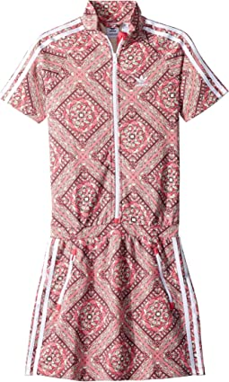 adidas Originals Kids Stained Glass Graphic Dress (Little Kids/Big Kids)