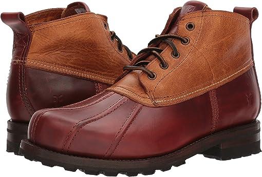 Cinnamon Multi Smooth Full Grain/Washed Vintage Leather