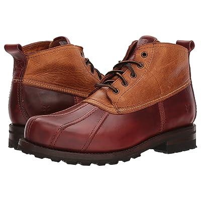 Frye Warren Duckboot (Cinnamon Multi Smooth Full Grain/Washed Vintage Leather) Men