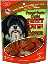 product image for Carolina Prime Pet 45256 Peanut Butter Coated Sweet Tater Bone Treat For Dogs ( 1 Pouch), One Size