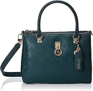 GUESS Womens Ninnette Case Satchel HANDBAGS