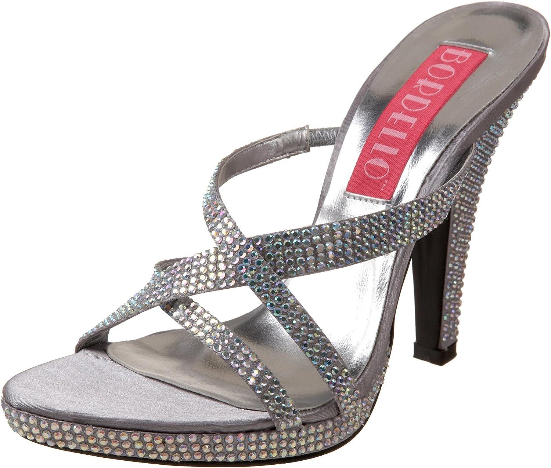 Pleaser Bordello Women's Siren-02R Platform Sandal Pink