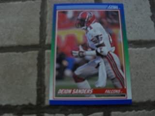 1990 Score Deion Sanders #95 Atlanta Falcons Football Card