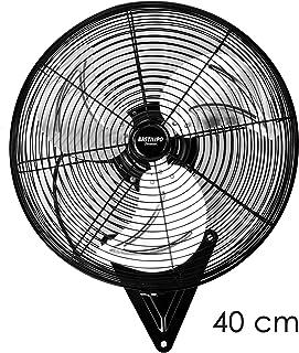 Bastilipo Levante 50cm Ventilador Industrial de pared-110W, Negro