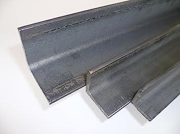 500 mm +//- 5 mm 1.0038 ST37 0,5 mtr. S235 B/&T Metall Stahl Winkel VERZINKT 30x30x3 mm in L/ängen /à ca