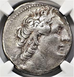 EG 285/4-246 BC Ptolemaic Kingdom King Ptolemy II Ancient Silver Antique Coin AR Tetradrachm Very Fine NGC