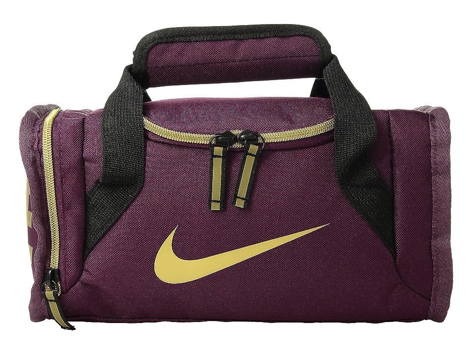 Nike Kids Brasilia Insulated Fuel Duffel (Bordeaux) Duffel Bags