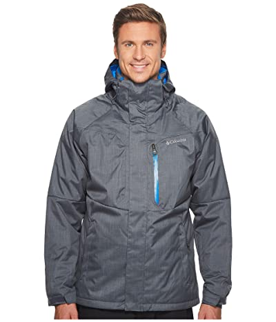Columbia Alpine Actiontm Jacket (Graphite/Super Blue) Men