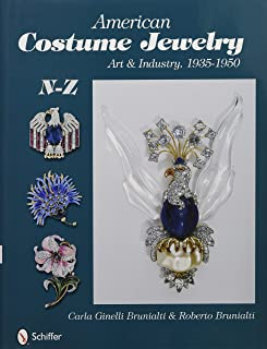 American Costume Jewelry: Art & Industry, 1935-1950, N-Z