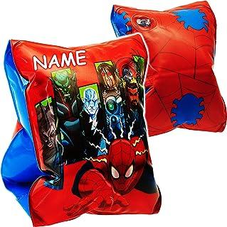 Spiderman Schwimmflügel für Kinder Pool Strand Baden Schwimmhilfe
