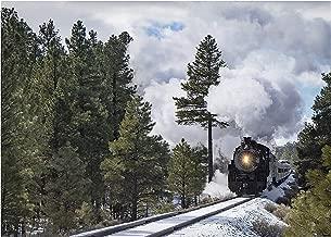 A O Tucker Artwork - Trains - 8 x 10 - Steam Locomotive Grand Canyon Railway - Fine Art Photograph - Matted Print - Ready to Mat/Frame Home & Office Decor