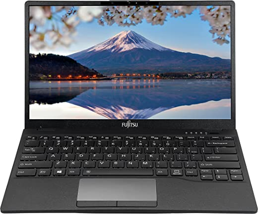"Fujitsu UH-X 11th Gen Intel i7 Core 13.3"" (33.78cm) FHD IPS 400Nits Thin and Light Laptop (16GB/512GB SSD/Win10/Office/Iris Xe Graphics/Backlit Kb/ Fingerprint Reader/Black/878gms), 4ZR1D67596"