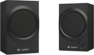 Logitech 980-001230 Multimedia Speakers Z240 20W 3.5mm Speakers for PC Laptop Smartphone Black