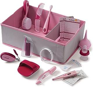 Safety 1st Ready! Deluxe Baby Nursery Kit, Raspberry