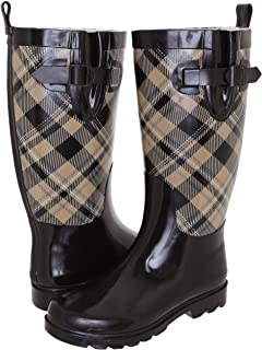 Capelli New York Ladies Cozy Lined Rain Boots - Tall & Mid-Calf