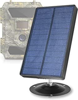 CREATIVE XP Trail Camera Solar Panel Kit - Waterproof 12V...
