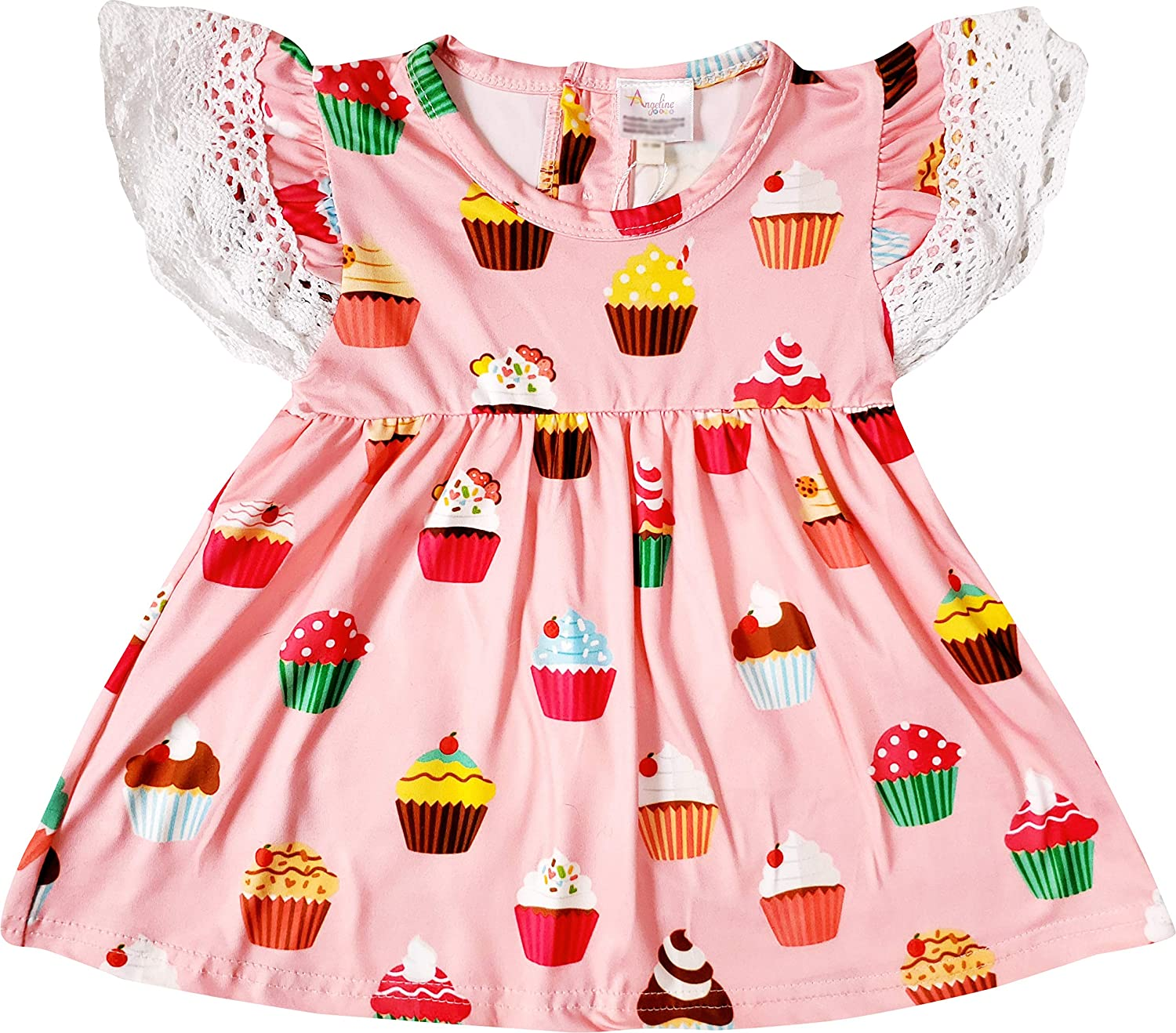 Boutique Clothing Baby Little Girls Spring Summer Top Short Outfit Sets Unique Novelty Styles