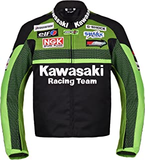 Kawasaki Racing Team Textile Motorcycle Jacket (L (EU52-54))