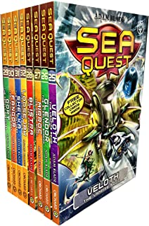 Sea Quest Series 7 and 8 Collection Adam Blade 8 Books Set Pack
