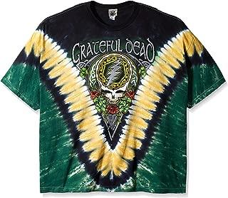 Men's Grateful Dead Shamrock Tie Dye T-Shirt