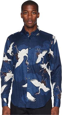 Easy Shirt Japanese Crane