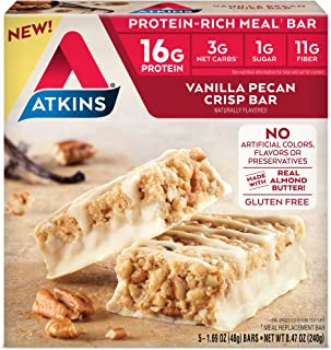 atkins harvest trail bars