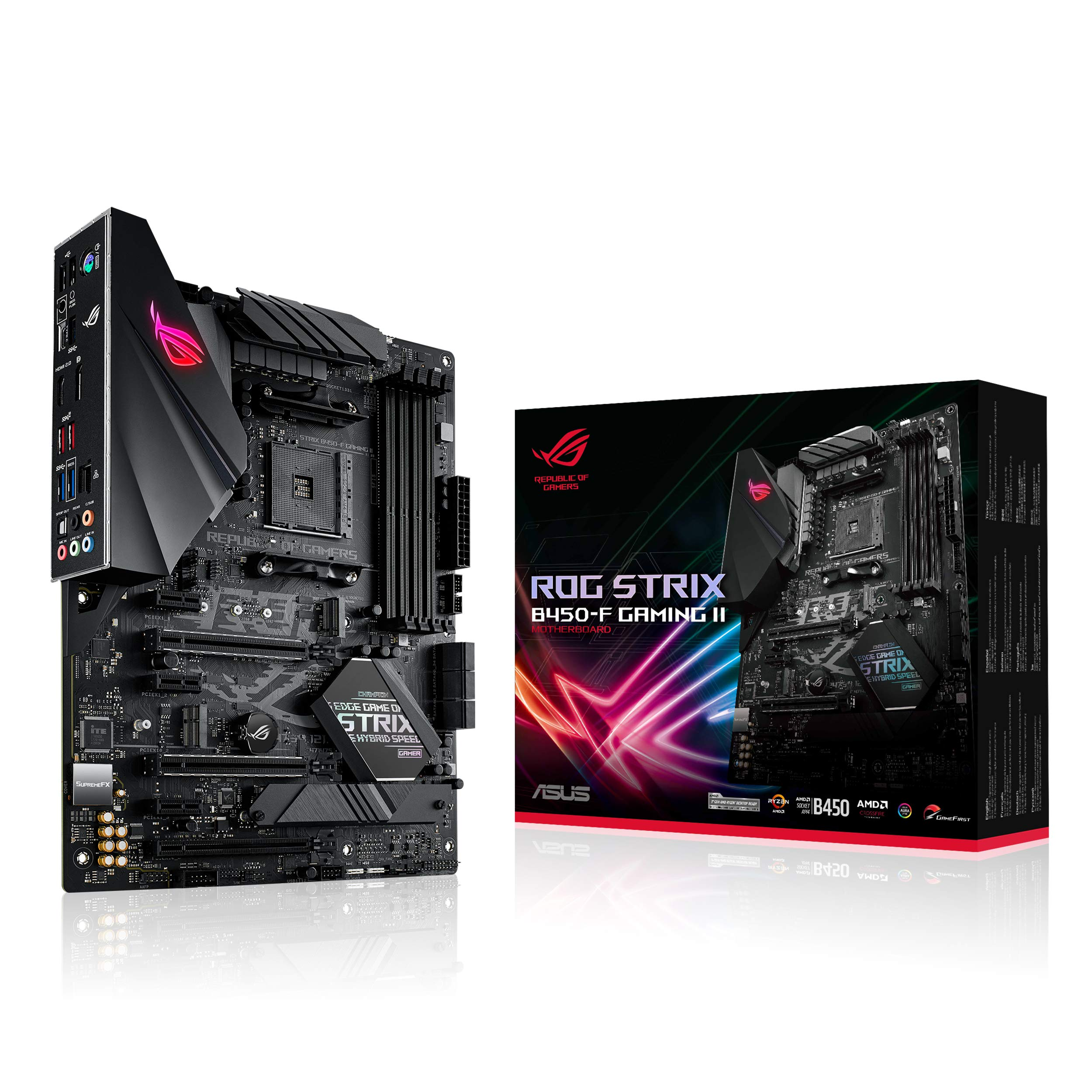 MOTHERBOARD ASUS B450-F ROG STRIX GAMING2 AM4