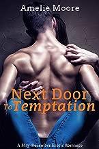 Next Door To Temptation: A May-December Erotic Romance