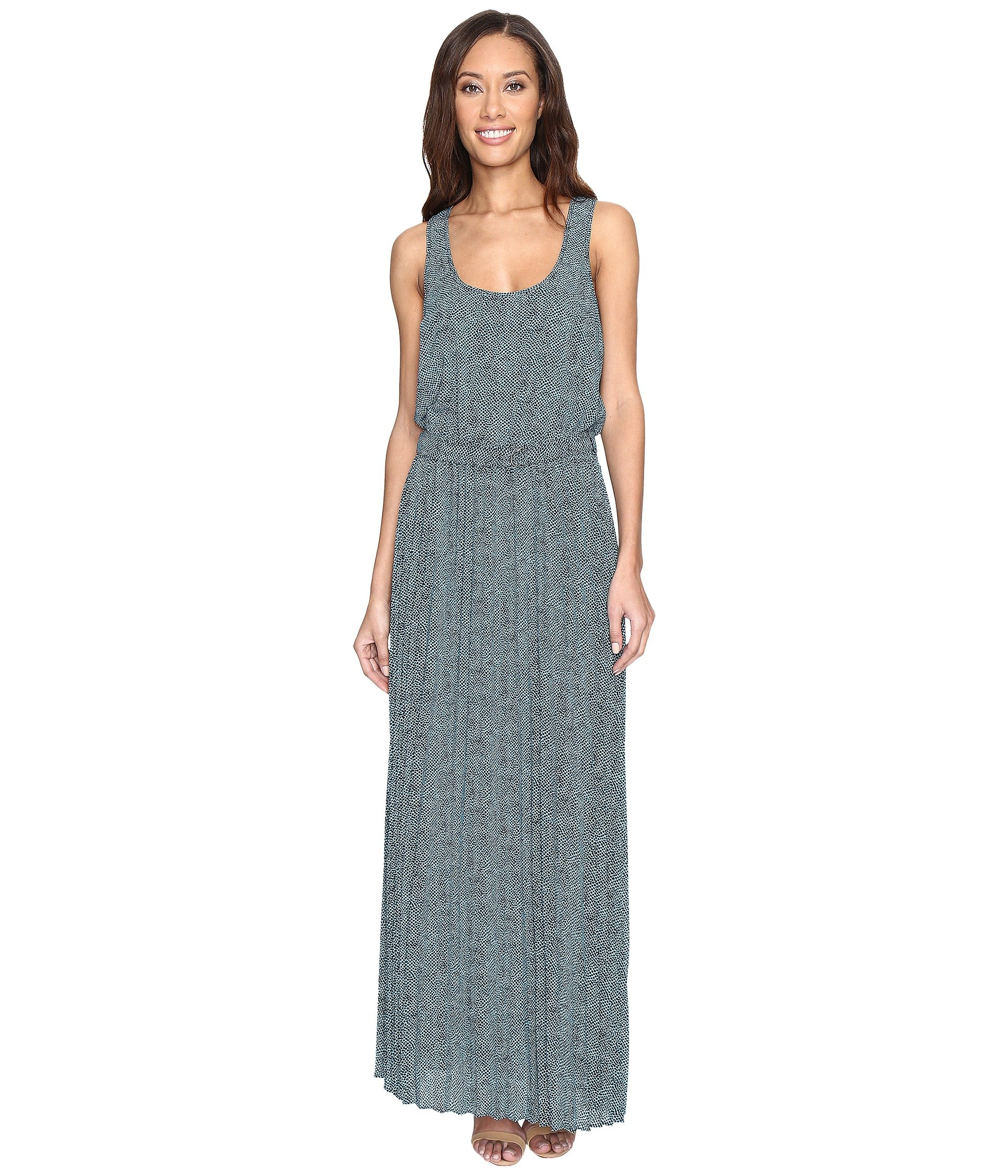 Stingray Tank Dress, Turquoise