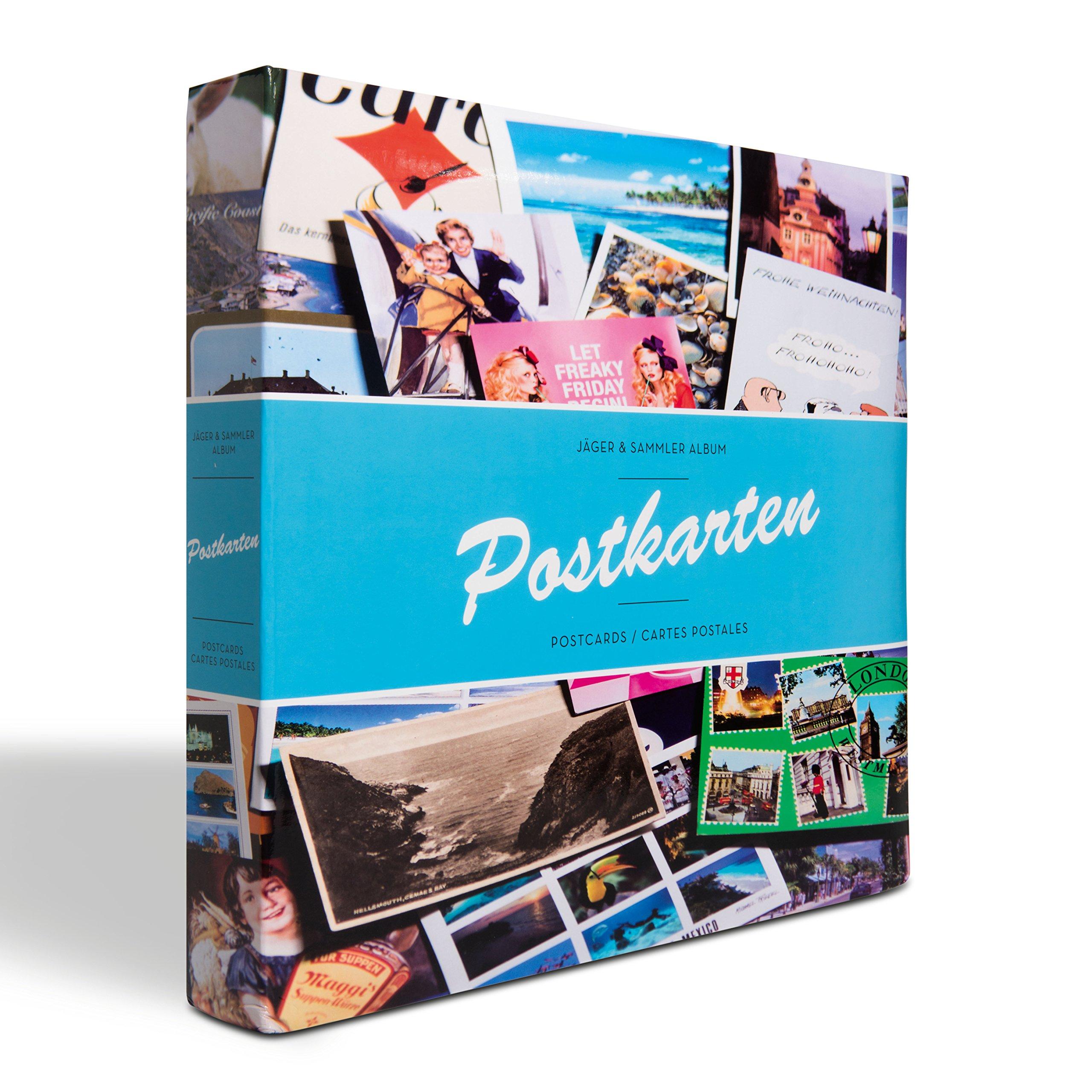 Álbum para tarjetas postales incl. 50 fundas para 12 tarjetas por funda, diseño B: Amazon.es: Juguetes y juegos