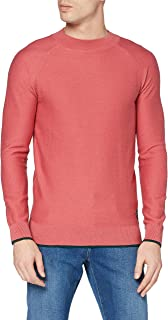Scotch & Soda Men's Hochgeschlossenes Sweatshirt Aus Baumwoll-wollmischung Pullover Sweater