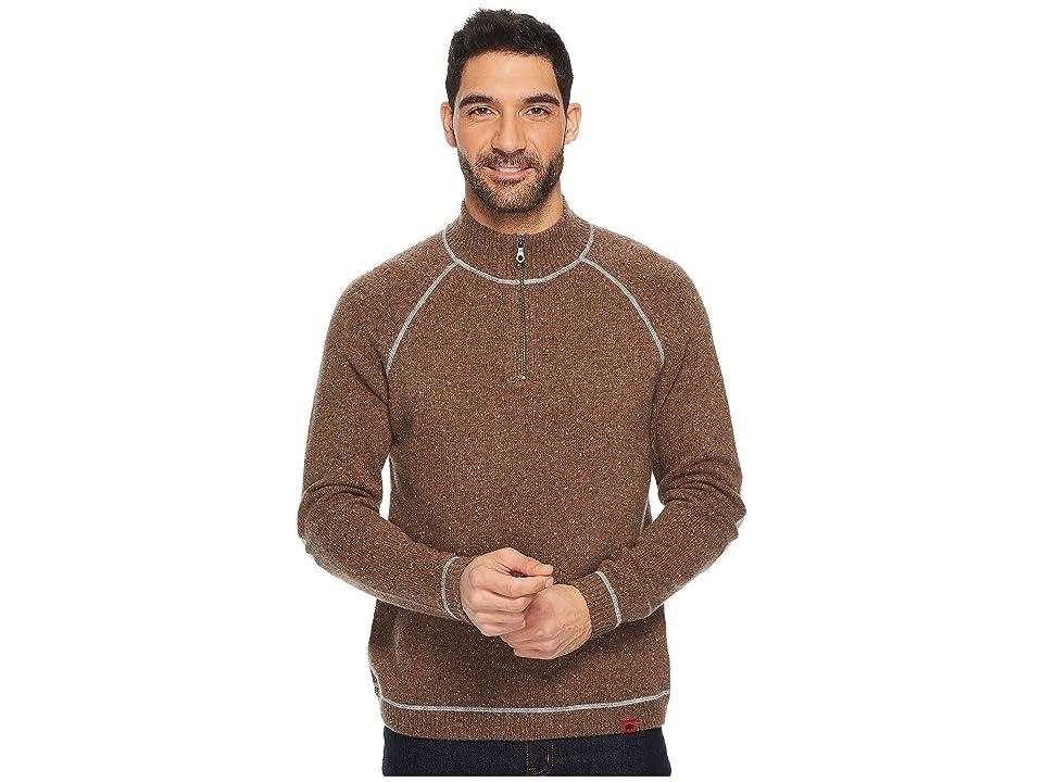 Mountain Khakis Fleck Qtr Zip Sweater (Terra) Men