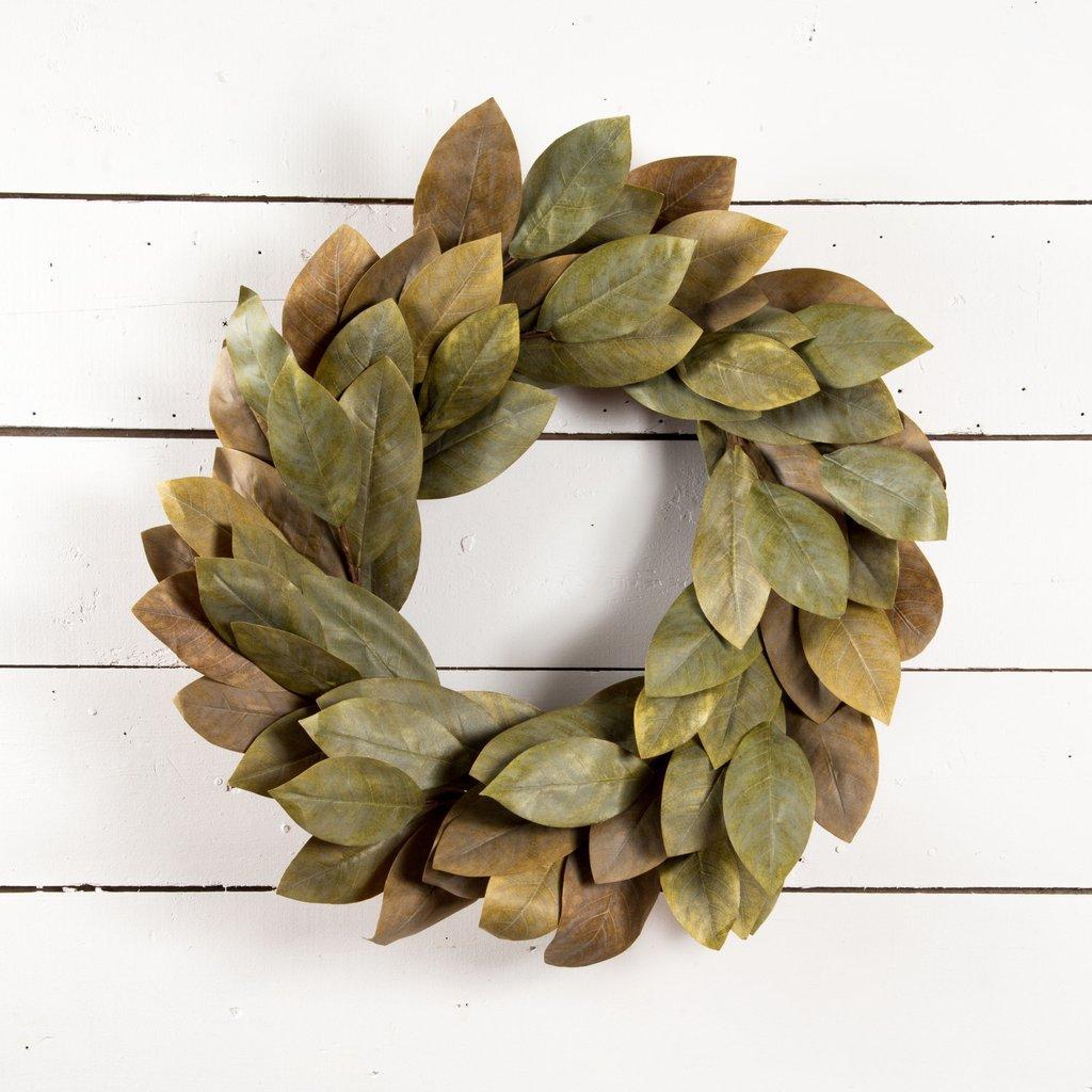 Signature Magnolia Wreath - Magnolia | Chip & Joanna Gaines – Magnolia Market
