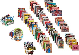 Pack of 100 pcs Different Car Stickers Motorcycle Bicycle Skateboard Laptop Luggage Decals Bumper Stickers Waterproof