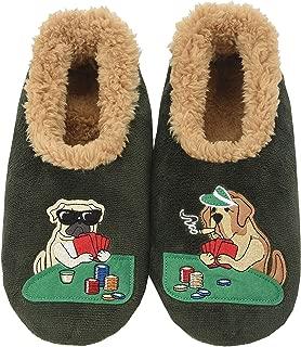 Mens Pairable Slippers   Comfortable Slippers for Men   Fuzzy Mens Slipper Socks   Soft Sole Mens House Slippers   Multiple Sizes and Styles