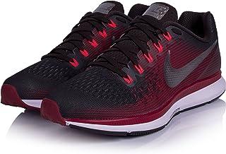 Nike Women's Air Zoom Pegasus 34 Running Shoe (Gem) Shadow Brown/Metallic Pewter/Rush Maroon (7)