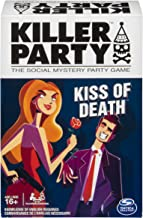 Killer Party - Kiss of Death, The Social Mystery Party Game For Ages 16 & Up