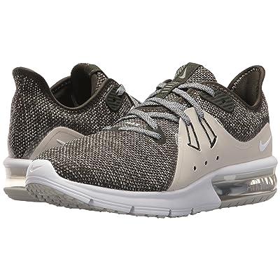 Nike Air Max Sequent 3 (Sequoia/Metallic Platinum/White) Women