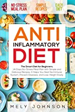 Anti Inflammatory Diet: The Smart Diet for Beginners. 14-Days No-Stress Meal Plan with Simple and Delicious Recipes. It Helps You Heal the Immune System, Prevent Diseases, and Lose Weight Easily.