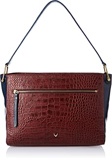 Hidesign Women's Shoulder Bag (Red Midnight Blue)