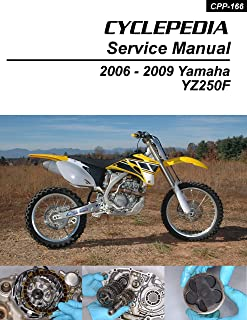 2006-2009 Yamaha YZ250F Four-Stroke Service Manual